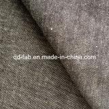 Cotton/Linen/Spandex Denim Fabric Jean Fabric (QF13-0733)