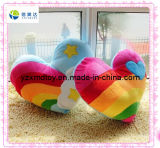 Plush Corlourful Lovely Heart Toy