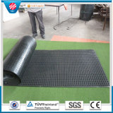 Anti-Fatigue Drainage Holes Rubber Safety Light Weight Mat in Roll