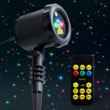 Outdoor Laser Light for Christmas, Holiday Landscape Lighting, Projection Lights for Party Decoration