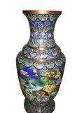 Enamel Urn Pot Vase (JW012)