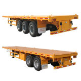 40ft Flatbed Semi Trailer with 2/3axle