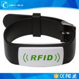 Custom Printing 125kHz Tk4100 Adjustable Plastic RFID Wristband