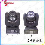 Alite Lighting 2PCS 10W Double Side Face LED Beam Moving Head Light