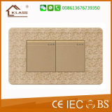 Factory Hot Sale 2gang Wall Switch