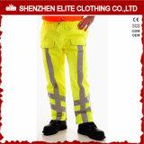 Durable Mechanic Waterproof Fluorescent Yellow Work Pants