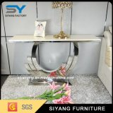 Modern Furniture Stainless Steel Hallway Table Mirror Console Table