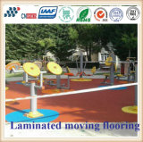 Crossfit Indoor and Outdoor Playground EPDM Rubber Flooring