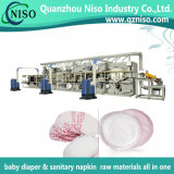 High Speed Full-Automatic Disposable Breast Pads Making Production Line Machine
