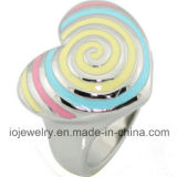 Stainless Steel with Enamel Ring Jewelry Customized