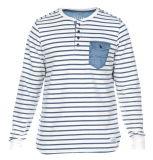 2017 New Design Customized Men Garment Washing Yarn Dye Buttonsweatshirts Top Clothing (H0382)