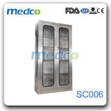 Hot! ! Hospital Stainless Steel Wardrobe Furniture, Medical Medicine Storage Cupboard