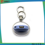 portable mobile power bank charger with key chain for mobile phone charging
