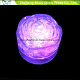 Wholesale Water Sensor Flashing LED Ice Rose Cubes Glowing Drinkable Decoration for Event Party Wedding
