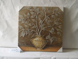 Forest in The Vase Canvas Hand-Painted Plants Home Decorative Painting