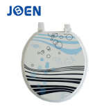 Sea Fish Printing Moulded Toilet Seat Cover