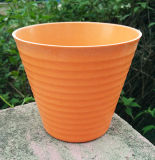 New Design Home and Garden Decoration Bamboo Fiber Flower Pot (BC-SF1016)
