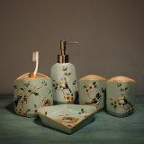 Cheap Price 5PCS Simple Ceramic Bathroom Accessories Sets