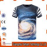 Men′s 100% Polyester O-Neck Short Sleeve 3D Digital Printing T-Shirt
