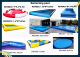 Cheap Price Square Inflatable Swimming Pool for Rental Commercial