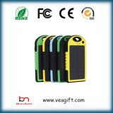 Latest Portable Solar Power Bank with 5000mAh Polymer Battery