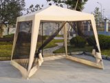 Polyester PU Coating Gazebo with Mosquito Mesh