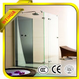 Ce SGS Tempered Glass Shower Wall Panels/ Sandblasted Glass for Doors