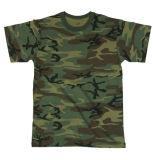 Short Sleeves Woodland Camo T-Shirt (A170)