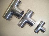 Sanitary Stainless Steel Threaded Tee (DN15-200 & 1/2′′-8′′)
