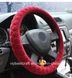 Shrink Velvet Steering Wheel Cover with Comptitive Price and Short Delivery