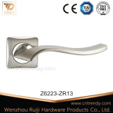 New Waved Shape Zinc Door Handle for Interior Door