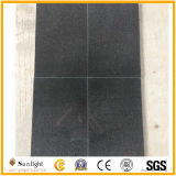 Precise Size G654 Sesame Black Granite Polished Granite Tiles for Wall or Floor