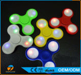 Tri Fidget Spinner Toy with LED Lights Hand Spinner
