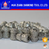 Huazuan Diamond Tools 7.2mm Diamond Wire Saw Beads with 3.9mm Inner Diameter