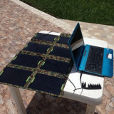 28W 5V USB DC 9V - 18V Dual Ports Foldable Solar Power Charger for Notebook Computer Phone