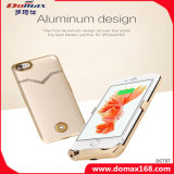 Mobile Phone Lithium Battery Diamond Aluminum Case Power Bank Slim for iPhone 6