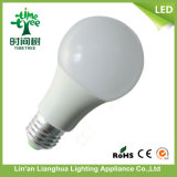 7W E27 6500k LED Bulb Light with Aluminum +Plastic