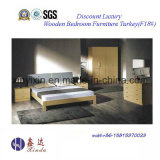 Foshan Factory Wooden Bed Modern Bedroom Sets Furniture (F18#)