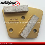 Concrete Diamond Grinding Blade with Double Bar Segments