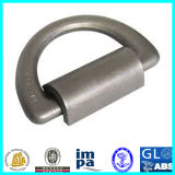 36t Forged Container Lashing D Ring with Bracket