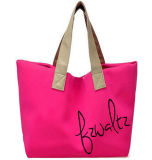Leisure Microfiber Lady′s Handbag for Shopping, Promotion