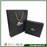 Black Luxury Rectangle Paper Carrier Gift Bag