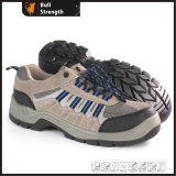 Industrial Leather Safety Shoes with Steel Toecap (Sn5386)