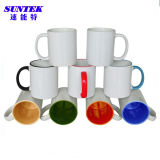 11oz Colorful Handle Ceramic Heat Press Coffee Mug