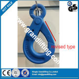 G80 Forged Alloy Steel Revised Type Eye Selflocking Hook