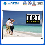Aluminum Large and Big Scale Telescopic Banner Stand, Adjustable Display Racks for Tradeshow (LT-21)