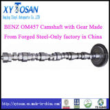 Forged Steel for Benz Om457 Camshaft with Gear