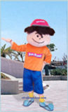 Newest Design Inflatable Costume Cartoon for Children Park (A891)
