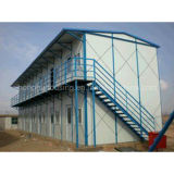 Low Cost Prefabricated K House Two Storey Office Building