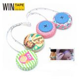 Fashionable PU Leather Covered ABS Case Measurement Tools Promotional Gifts (RT-033)